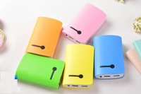 High Quality 7800mah Power Bank External Backup Battery Pack Charger mobile powers