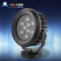 High quality aluminum die casting high power led flood light outdoor lawn lamp floor lamp