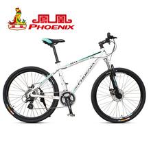 Phoenix bicycle 24 26 double disc aluminum alloy frame mountain bike m6.3 c