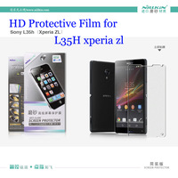 Nillkin Screen Protectors 2pcs/Lot Matte Frosted Protective Film for sony L35H(xperia zl) Screen Protectors for L35H