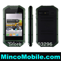 "3.5"" Capacitive Multi-Touch Screen A1 Android Car Phone SC6820 1.0GHz CPU / 512M RAM / WIFI / Dual SIM Android 4.1 Mobile Phone"