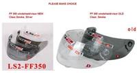 free shipping Motorcycle Helmet Visor /Windshield -model LS2 FF350 clear visor smoke visor silver visor available