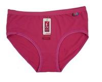 New cotton 3pcs/lot ladies underwear Wholesale size L XL XXL  XXXL  4 sizes  and 10colors to choose