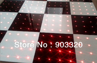 New 2ft*2ft*1.2RGB Portable Mutlti Function SMD5050 3IN1RGB LED Dance Floor With 32 Functions,4 Channels Remote Control
