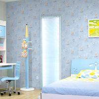 10m*45cm baby Wallpaper wallpaper sticker pvc waterproof thickening child real bedside cartoon paper walls  home decor