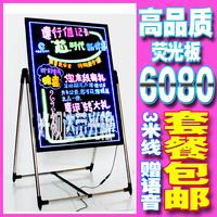 Electronic neon board 60 80 led handwriting board luminescent blackboard neon screen blackboard
