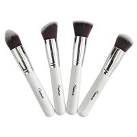 Wholesale 4 pieces/lot professional nylon hair Sixplus makeup brushes to face powder blush cosmetic brushes set