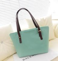 2014 Time-limited Rushed Pocket Medium(30-50cm) Women Women Handbag Bolsas Women's Handbag Candy Color Brief Pu One Shoulder Bag