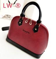 2014 Rushed Hot Sale Silt Pocket Medium(30-50cm) Zipper Women Women's Handbag Messenger Bag Fashion Normic Vintage Shell Bags