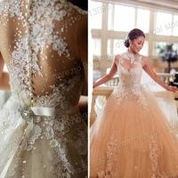 Vintage Vestidos de noiva 2014 New Arrival gelinlik modelleri Wedding Dresses for weddings Free Shipping vestido de casamento