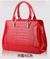 Fashion women's handbag 2013 bag crocodile pattern handbag cross-body women's handbag