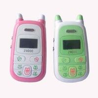 DHL Free shipping100pcs/lot,NEW Dual Band Cute Kids' Children's Mobile Phone Cellular Multi-Color Unlocked Z9000