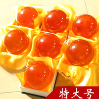 Dragon ball Z star 4.5CM crystal ball set FS Promotion Japan Anime 1-7 star  ball Rtail birthday gifts