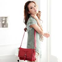 916 female bags 2013 spring and summer candy color rivet messenger bag vintage shoulder bag messenger bag