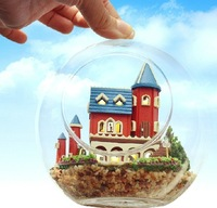 DIY LED LIGHT crystalball mini-series Dollhouse alice dream castle kit