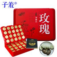 Rose essential oil foot bubble tablets female menstruation detoxifies pediluvium powder effervescent tablets