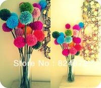 10,000pcs Wholesale beautiful paper flower ball 25cm(10 inch) Tissue paper flowers Craft Paper Flower Decoration