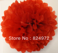 1000pcs Wholesale beautiful paper flower ball 25cm(10 inch) Tissue paper flowers Craft Paper Flower Decoration