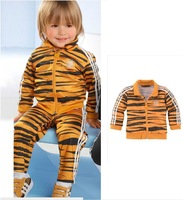 Retail baby Boys Suit Baby Sports Sets Bear Cartoon Clothing Sets Children/ Kids Long Sleeve T-shirt+Pant Outfits Autumn Spring