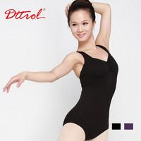 Calls adult dance female ballet leotard shaping services cross-strap straitest spaghetti strap coverall