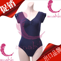 Ballet amabile dance leotard adult short-sleeve al0063 coverall