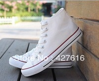 4 Colors Free Shipping  Sneaker for  Women High Style Canvas Shoes 35-39 Casual Breathable Sneakers  wholesale price