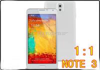 "Cheap NOTE 3 phone N9000 1:1 MTK6572 5.5"" screen Android 4.3 4GB ROM 3G eyes control air gesture light sensor mobile phone"