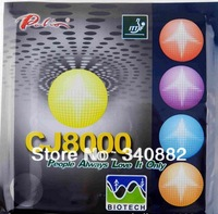Palio table tennis rubber indoor sports Palio rubber table tennis PALIO CJ8000 pingpong sponge design fit for European Palyers