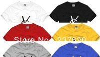 Free shipping 2014 new sale brand letter printed ys t-shirt fashion tee tshirt 100% cotton short t shirt  6 color