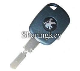 Free Shipping Electronic Key Blank for Peugeot NE78 10 pcs/lot(China (Mainland))
