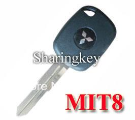 Free Shipping Electronic Key Blank for Mitsubishi MIT8 5pcs/lot(China (Mainland))