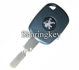 Free Shipping Electronic Key Blank for Peugeot NE78 5pcs/lot(China (Mainland))