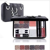 Makeup Set - Palettes Eye Shadow / Lip Gloss / Blusher / buff cake Makeup Kits Wholesales-free shipping