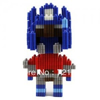 Free Shipping 2014 NEW Robot  Educational Toys Changed Building Block/Three-dimensional Jigsaw  For  Boys And Girls