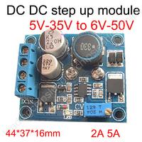 (step up dc-dc converters ) BOOST DC 5V-35V to DC 6V-50V 5A adjustable potentiometer