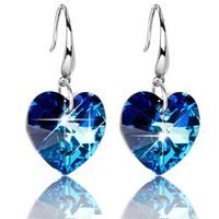 Hoop earrings earring silver earrings female 925 pure silver earrings ear buckle drop earring