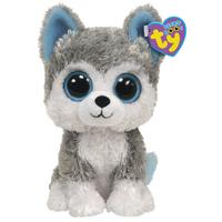 Free shipping kawaii TY Big Eye Stuffed Animal Husky 15cm cute plush dog soft toy children toys