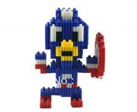 Free Shipping 2014 Captain America Educational Toys Changed Building Block/Three-dimensional Jigsaw  For  Boys And Girls