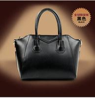 HOT!!!New 2014 fashion women genuine leather handbags designer famous brand cowhide one shoulder bag messenger bags totes purse