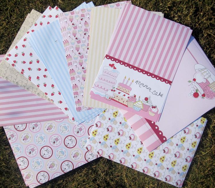Aliexpress.com: Comprar Mixta 10 diseños A4 tamaño de papel ...