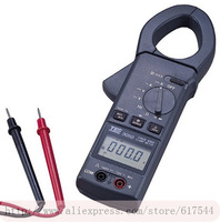 NEW!FREE SHIPPING TES-3050 Clamp Meter AC/DC True RMS Clamp Meter,AC/DC Digital Clamp Meter