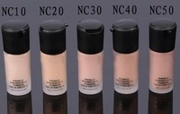 6pcs/lot makeup liquid Foundation Studio fix fluid SPF 15 Foundation 30ML (NC15, NC20, NC25, NC30, NC35, NC40), Free shipping