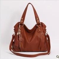 Genuine leather women's handbag 2013 paul women's fashion handbag fashion genuine leather one shoulder cross-body bag big bag