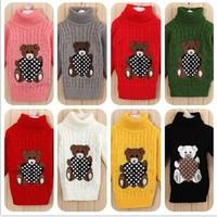2014 winter autumn -summer infant baby sweater boy girl child knitted sweater baby turtleneck sweater children outerwear