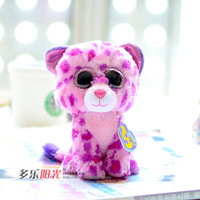 Ty symphony big eyes doll leopard plush toy flower Valentine's Day birthday gift  new year