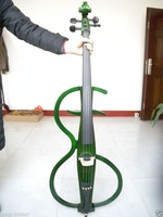 Free shipping Full Size New Electric Cello Silent Powerful Sound Ebony Part
