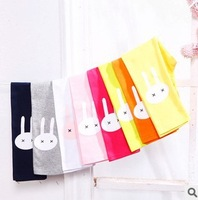 2014 new baby girls leggings for spring ,cute rabbit girls pantyhose baby stocking girl's pants/trousers  boot cut pants 90-130