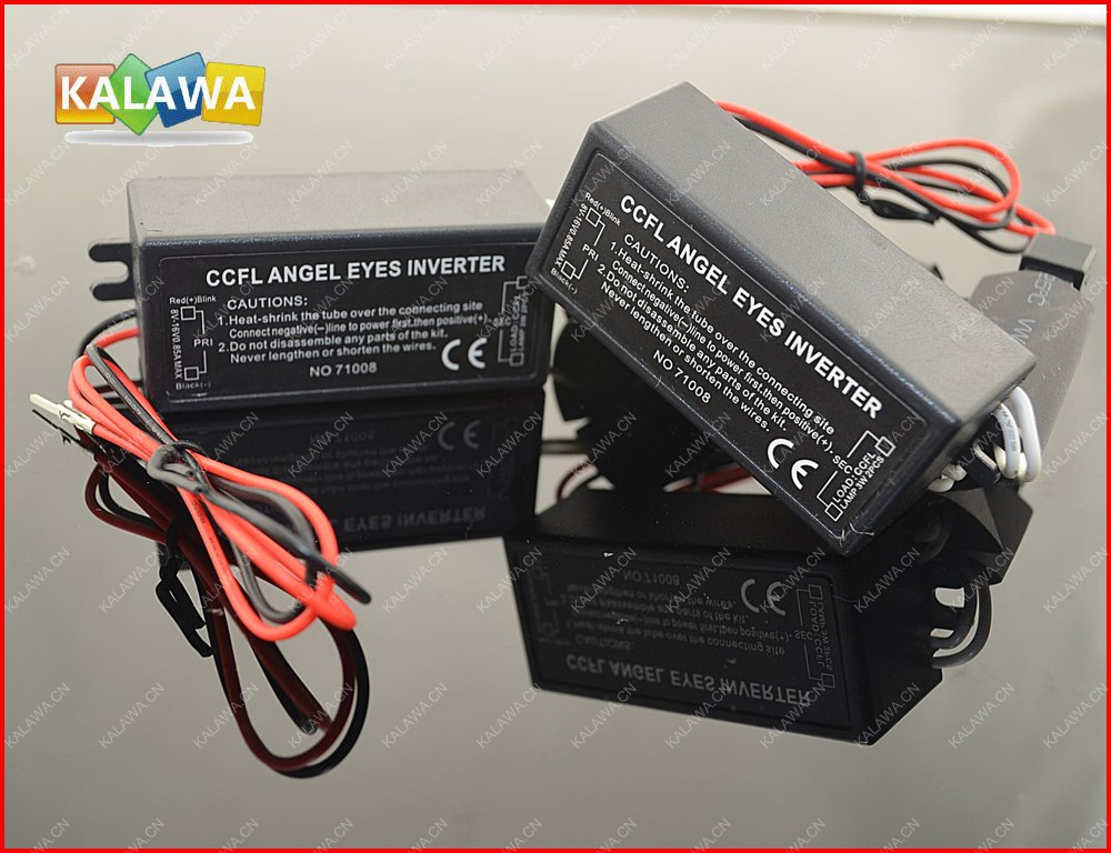 2pcs CCFL Inverter for CCFL Angel Eyes Light Halo Ring Spare Ballast fit for any cars FREESHIPPING GGG(China (Mainland))