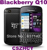 Original BlackBerry Q10 Unlocked OS10 Smart Mobile Phone Dual core Commerce phone 2100mAh Wifi Keyboard Refurbished