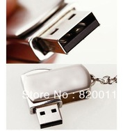 Wholesale!! stainless steel usb flash drive ,16GB 32GB 64GB  USB 2.0 Flash Memory Stick Drive U Disk, 1pcs/lot low shipping cost